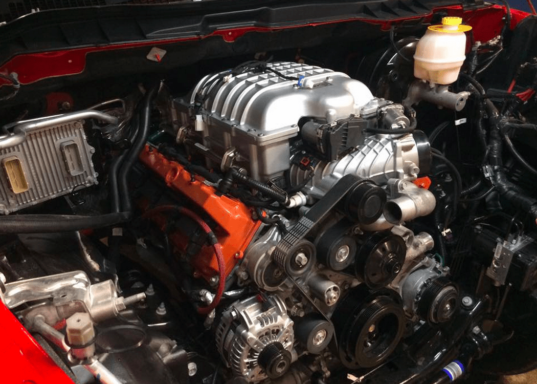 Wiring Harness Install Dodge Ram 1500 With A Hellcat V8 Engine Swap Depot
