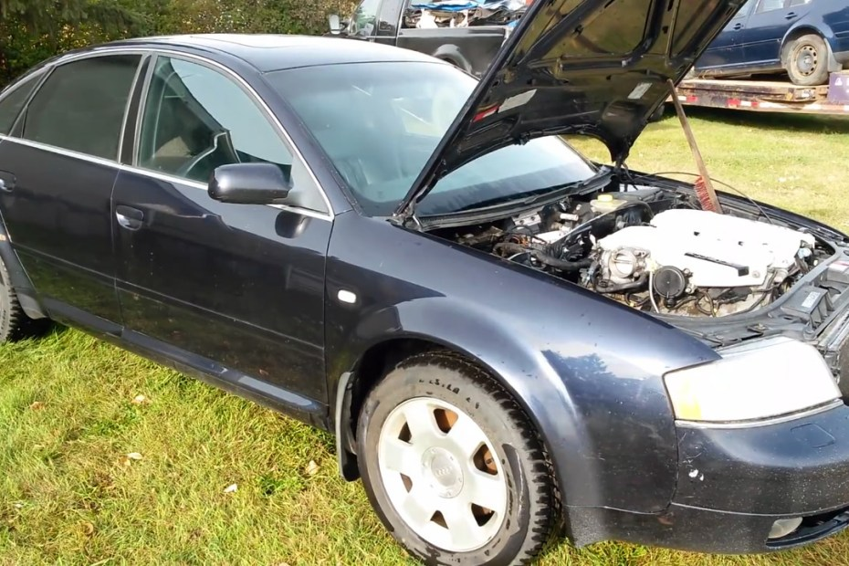 Audi A6 with a 6.0 L W12
