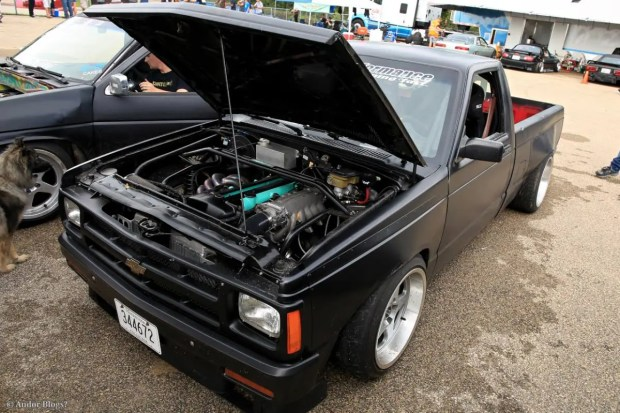 1988 Chevy S10 with a 2JZ-GTE