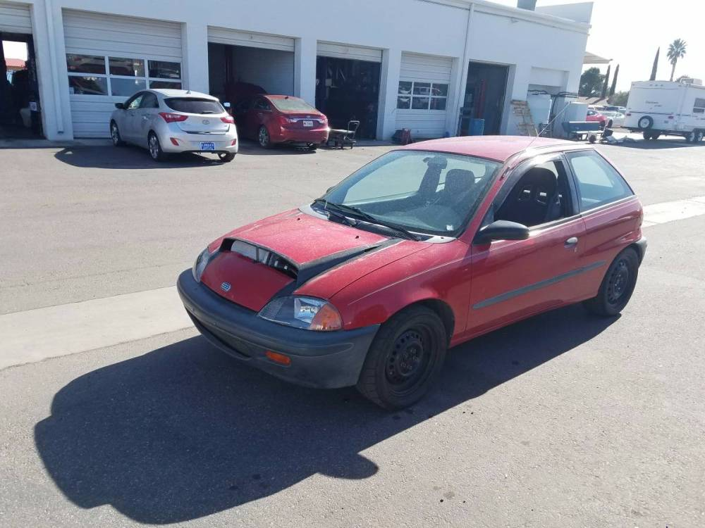 medium resolution of this 1996 geo metro is for sale in sierra vista arizona with an asking price of 6 000 or trade the factory 1 0 l inline three or 1 3 l inline four was