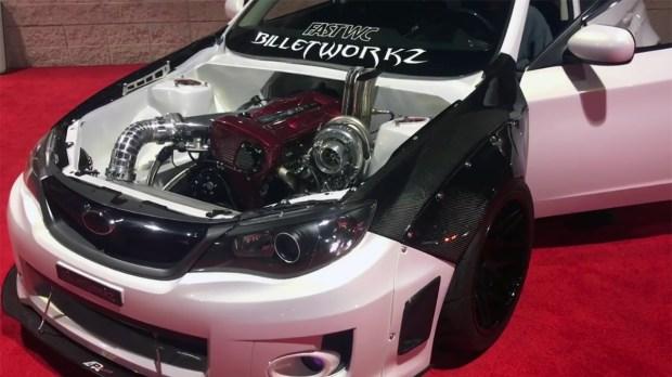 2012 Subaru WRX with a RB26 inline-six
