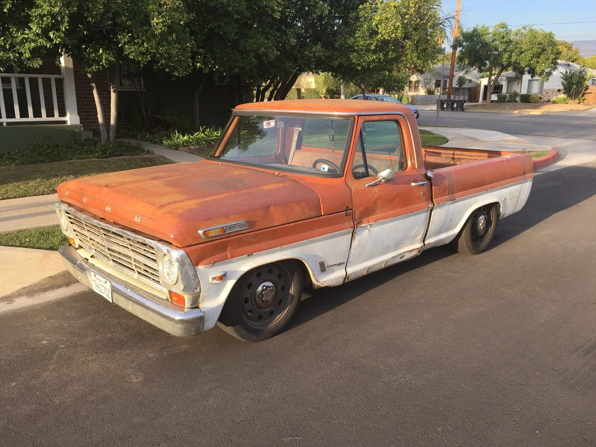 hight resolution of 1969 ford f 250 wrapped around a crown victoria