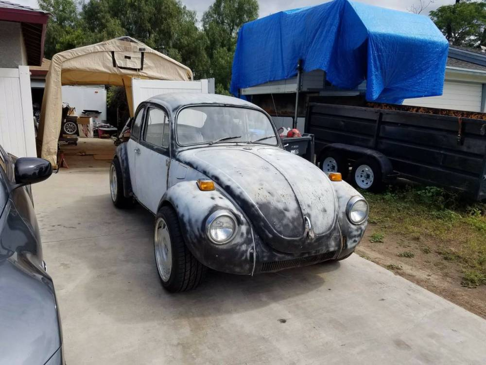 medium resolution of this unique 1971 volkswagen super beetle is for sale in thousand oaks california with no price listed the beetle sits on a chevy s 10 chassis with power