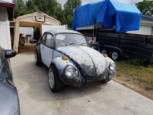 small resolution of this unique 1971 volkswagen super beetle is for sale in thousand oaks california with no price listed the beetle sits on a chevy s 10 chassis with power