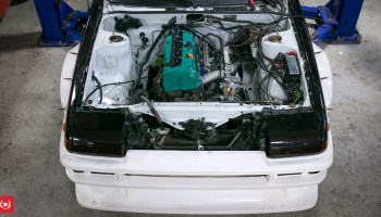 Toyota AE86 with a Turbo 2 3 L SR20 Inline-Four – Engine Swap Depot