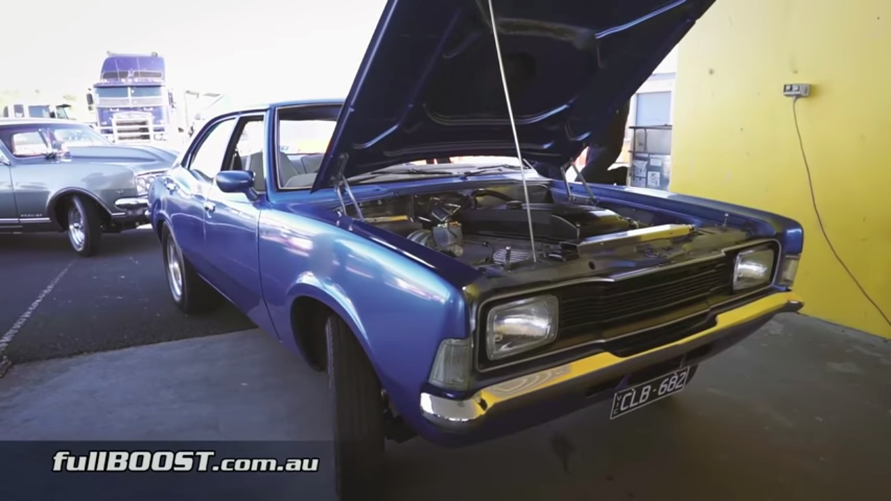 1974 Cortina with a Turbo Barra  Engine Swap Depot