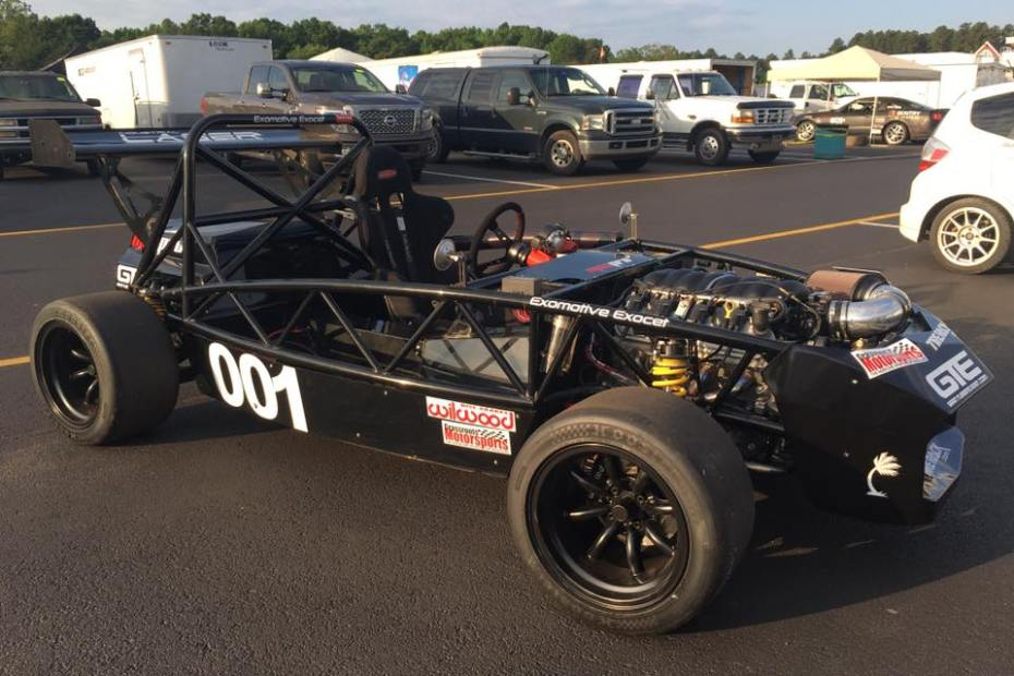 Exomotive Exocet Sport with a LS3 V8
