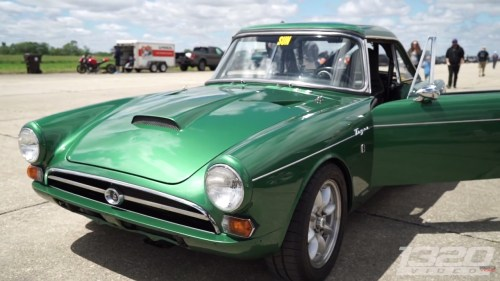 small resolution of this 1966 sunbeam tiger was brought to omega motorsport s noflyzone midwest event at rantoul aviation center s airstrip where the small car went 151 mph