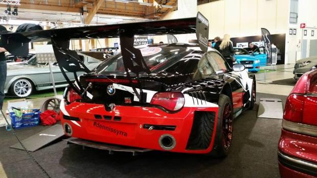 BMW Z4 with a Twin-Turbo Porsche V8