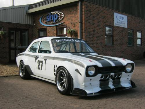 small resolution of this ford escort might seem like a modified original but it s a custom race car built by shp engineering it starts with a fiberglass body and space frame