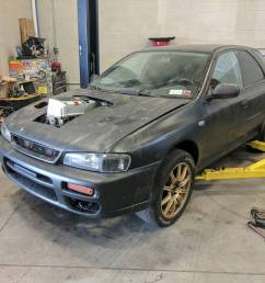 prime motorsport s subaru impreza wagon called project toilet bowl used to be powered by a 800 horsepower ej25 flat four however the company wanted to do  [ 1080 x 936 Pixel ]