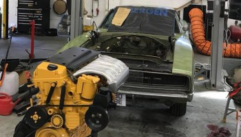 Ford F-250 with a Mercedes Diesel Inline-Six – Engine Swap Depot