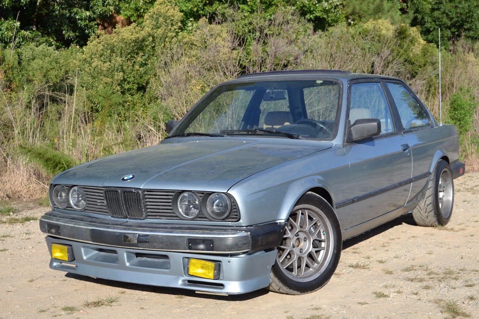 hight resolution of this 1985 bmw 318i is for sale on ebay in cary north carolina the factory inline four and five speed manual were swapped for a 5 7 l ls1 v8 and t56