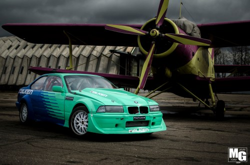 small resolution of arturs miskinis may speak three languages but on the track his 1992 bmw e36 speaks only one the 27 year old from riga latvia competes under the falken