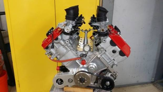 JFC Racing 3.0 L V8 with Hayabusa heads