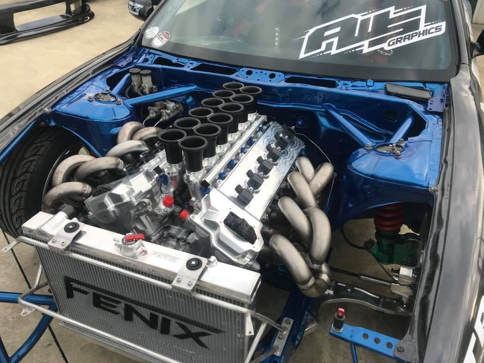 6 5 Diesel Engine Wiring Diagram Nissan S14 With A Toyota V12 Update Engine Swap Depot