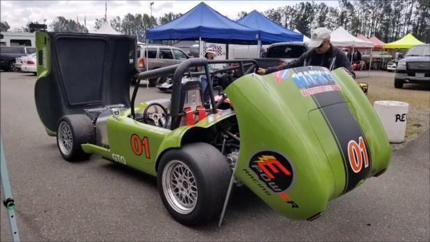 EPower Racing Cobra with a Tesla P85 electric motor