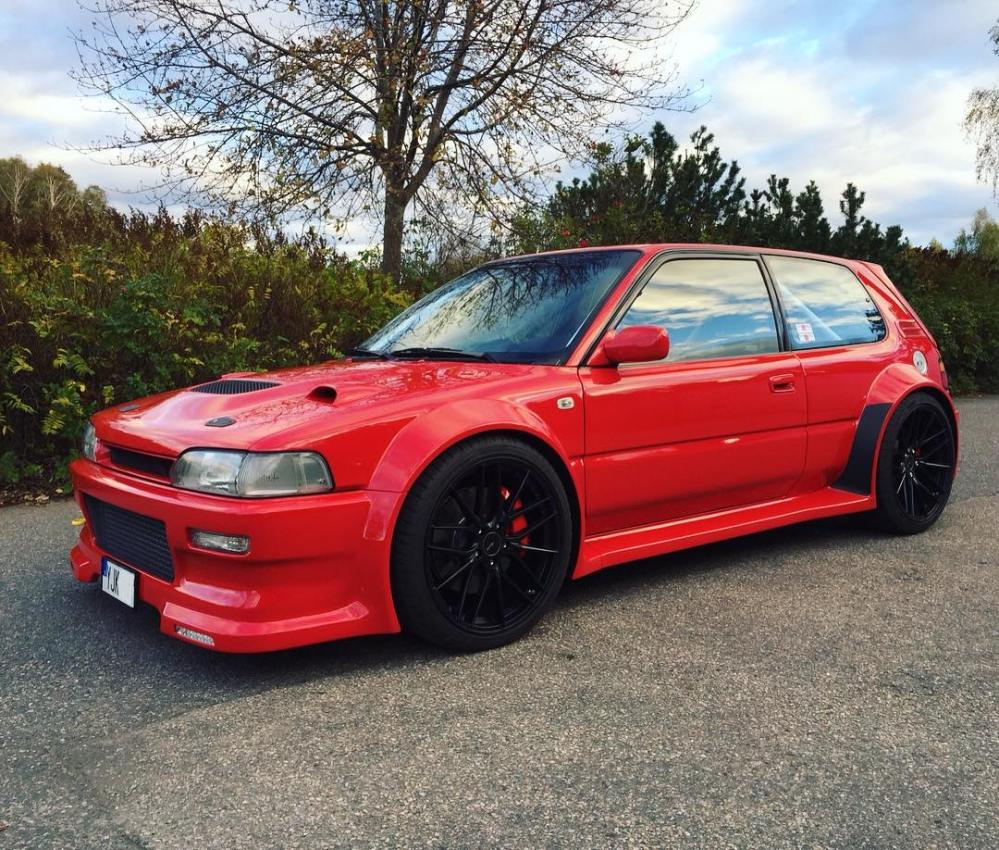 medium resolution of 1992 toyota corolla with a 2jz gte inline six engine