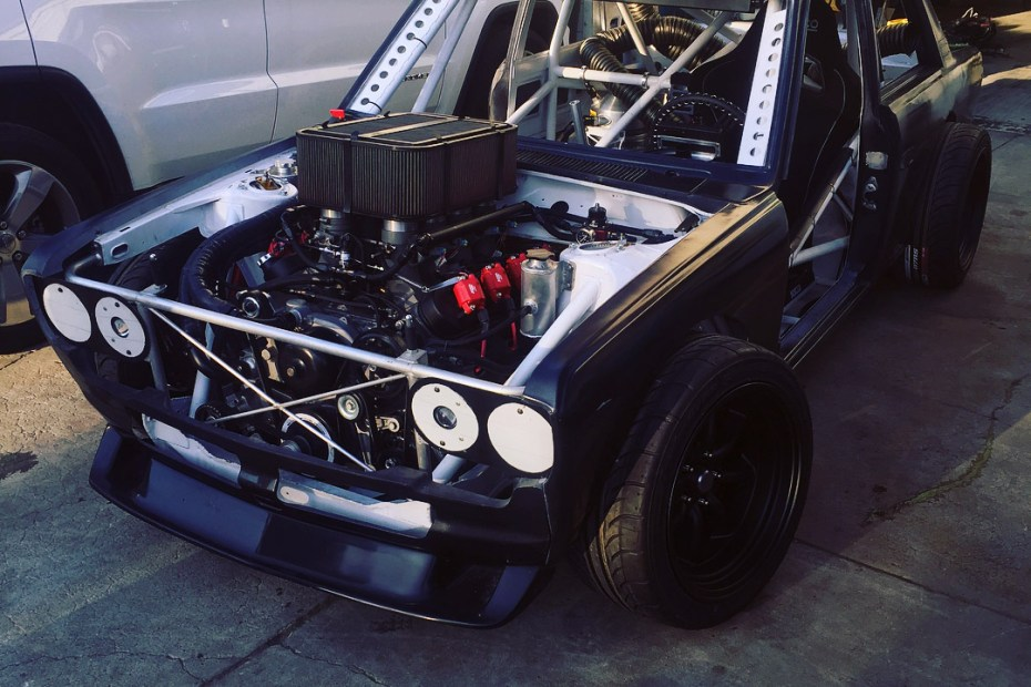 Datsun 510 with a LS3 V8