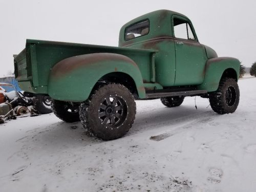small resolution of the truck has a lot of new parts such as aluminum radiator stainless steel exhaust and brake lines brakes wiring and fuel tank 1951 chevrolet