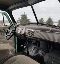 the truck has a lot of new parts such as aluminum radiator stainless steel exhaust and brake lines brakes wiring and fuel tank 1951 chevrolet  [ 1024 x 768 Pixel ]