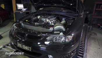 Commodore VN with a Twin-Turbo Ecotec V6 – Engine Swap Depot