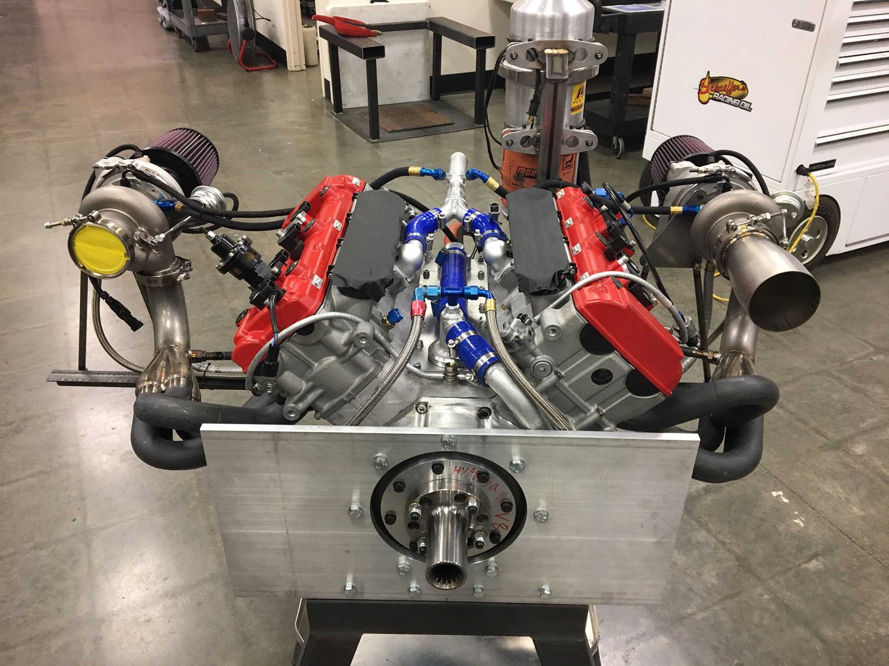 hight resolution of last year we wrote about jfc racing purchasing hartley s 3 0 l bolt v8 designs and developed their own version called the jfc v8