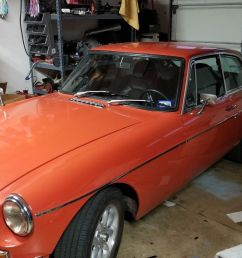 this 1971 mgb gt is for sale on ebay in san antonio texas with a starting bid of 7 500 and buy it now of 11 500 they replaced the factory engine and  [ 1600 x 900 Pixel ]
