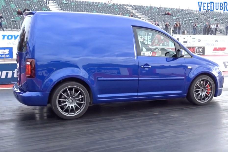 2006 VW Caddy with a Golf R Turbo Inline-Four