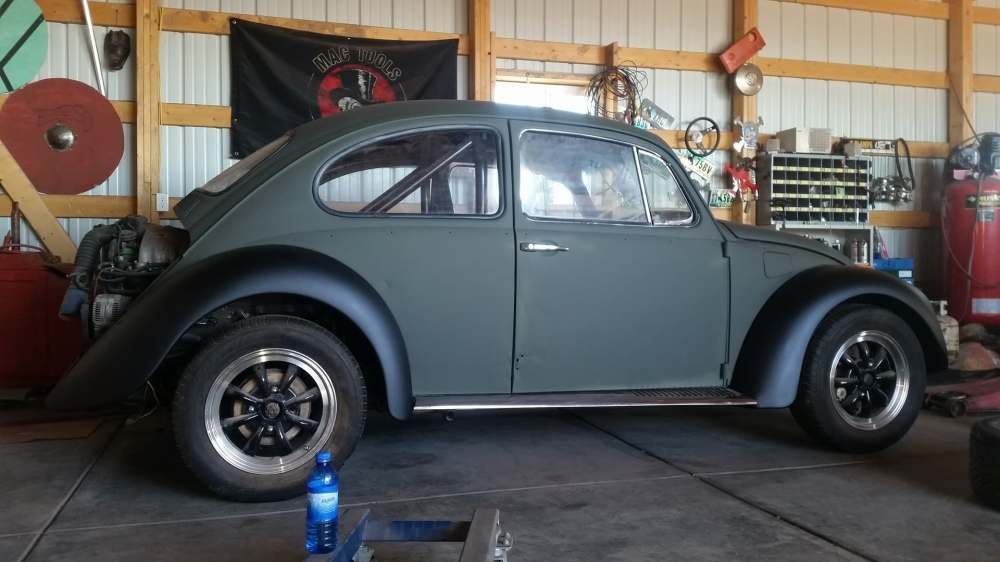 medium resolution of mike speelmon enjoys time spent in his garage working on his 1970 volkswagen beetle the beetle is powered by a 2 0 l 8v aba inline four connected to the