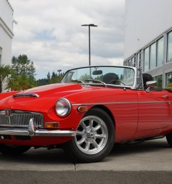 this 1979 mg mgb convertible is for sale on ebay in bellevue washington for 39 950 under the hood sits a 302 gt40 v8 crate engine that makes 340  [ 1600 x 1067 Pixel ]