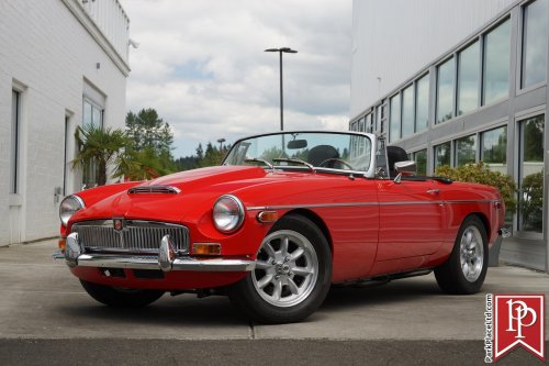 small resolution of this 1979 mg mgb convertible is for sale on ebay in bellevue washington for 39 950 under the hood sits a 302 gt40 v8 crate engine that makes 340