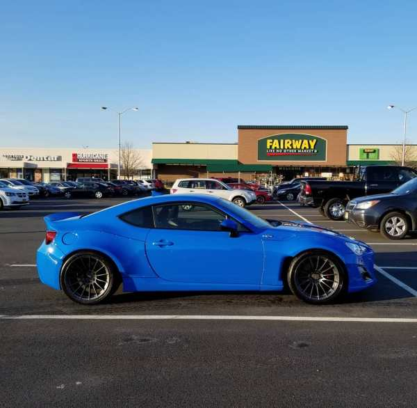 2014 Scion FRS with a turbo K24 inline-four
