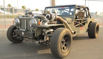 Jeep CJ-7 with a Supercharged V8 – Engine Swap Depot