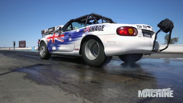 Mazda MX-5 with a Twin-Turbo LS1 V8