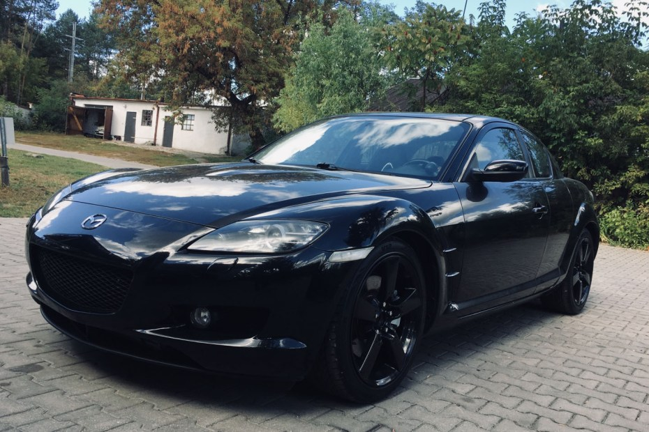 Mazda RX-8 with an Audi turbo 1.8 L inline-four
