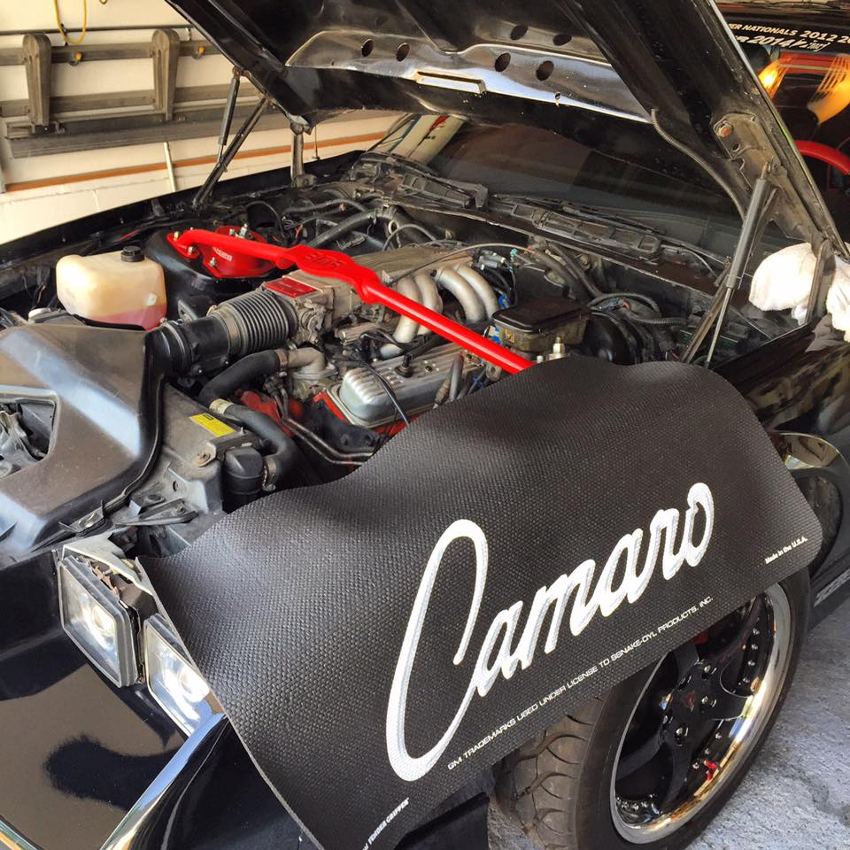 hight resolution of he started by replacing the tired factory 305 ci lb9 v8 with a turbocharged 5 3 l lsx v8 the new engine is based on a gen 3 model with gen 4 rods