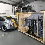 Aluminum Chassis Kit For Running An Audi V8 In A Vw Beetle Engine Swap Depot