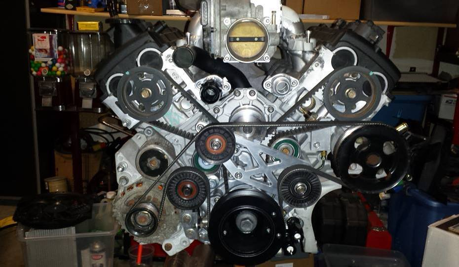 Mazda RX-8 with a twin-turbo Isuzu 6VD1 V6