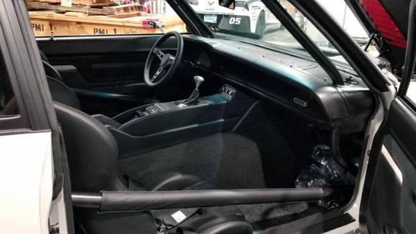1971 Maverick with a  twin-turbo Ford small-block V8