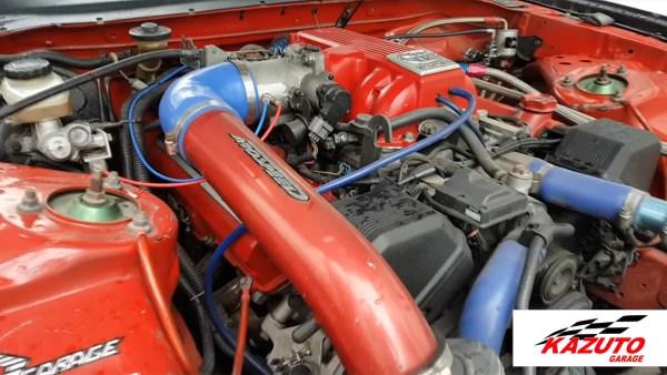 Supra Mk4 with a 1UZ V8