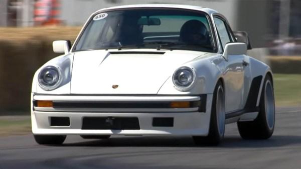 Porsche 930 with a F1 twin-turbo 1.5 L V6