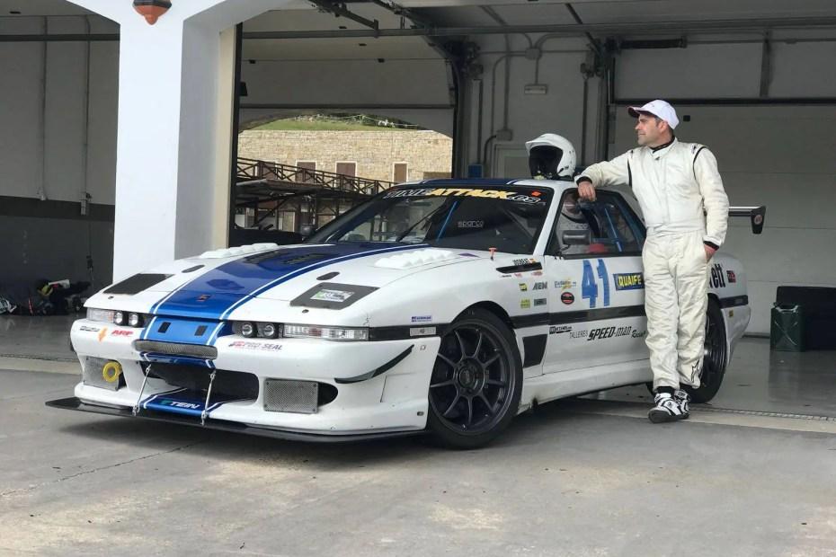 Toyota Supra with a Twin-Turbo Radical RPE V8