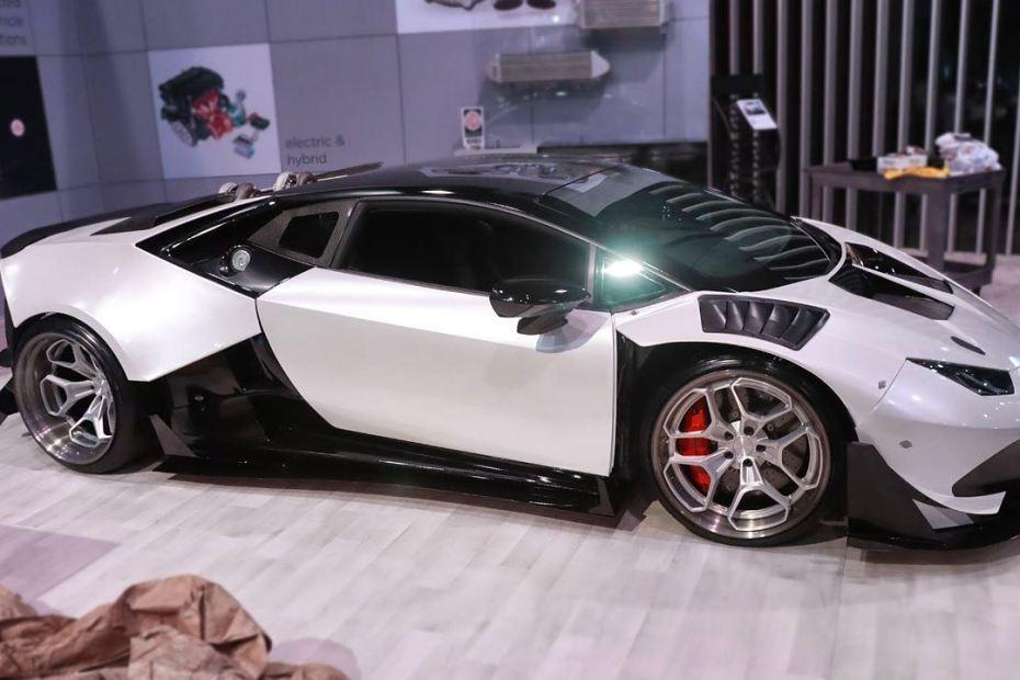 2015 Lamborghini Huracan with a Twin-Turbo LSx V8