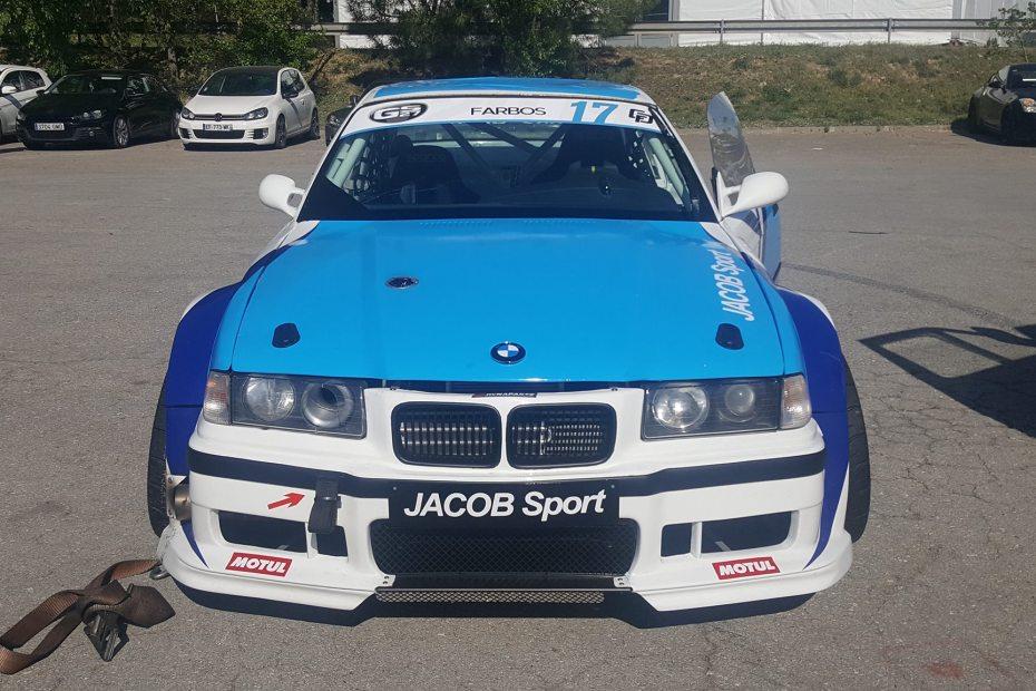 Jacob Sport BMW E36 with a Turbo VQ35 V6