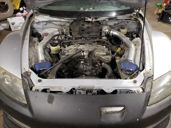 Mazda RX-8 with a VQ37VHR V6