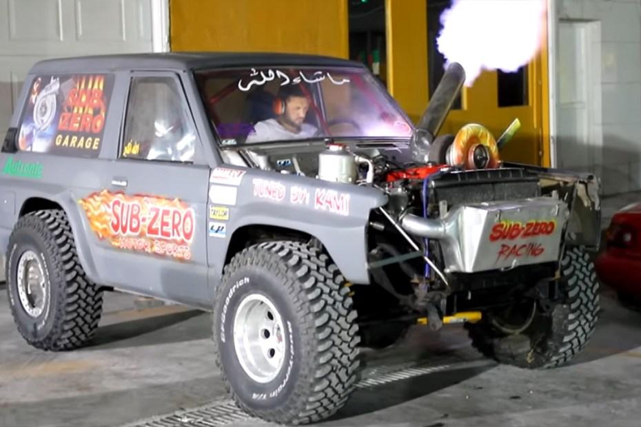 Uphill Sand Racing SUV