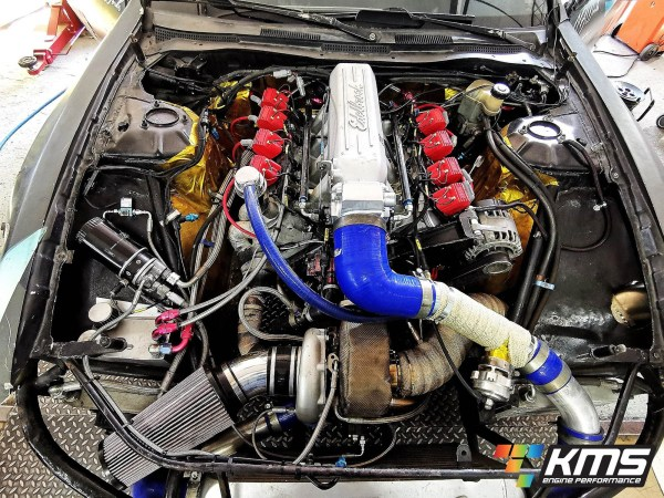 Nissan 200SX S14 with a Turbo 6.3 L LS1 V8