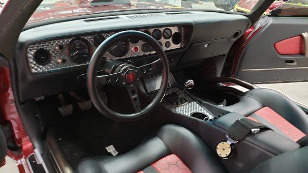 1977 Pontiac Trans Am with a supercharged LT4 V8