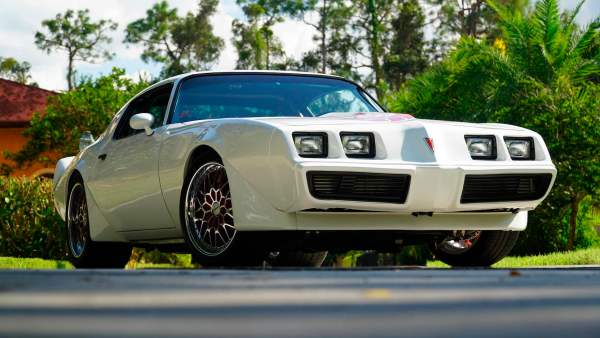 1981 Firebird Trans Am with a twin-turbo LS9 V8
